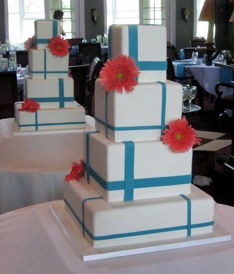 Gift design for cake