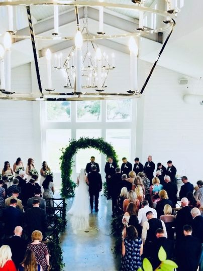 Inside ceremony