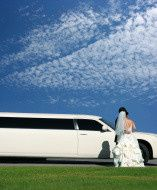 stock photo 5482687 wedding and limousine