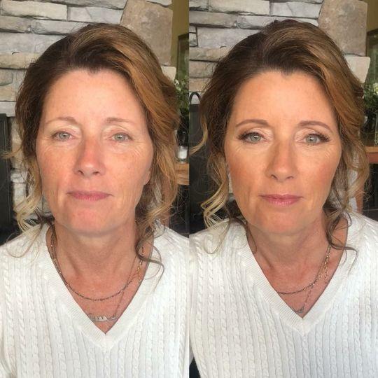 Luminous makeup