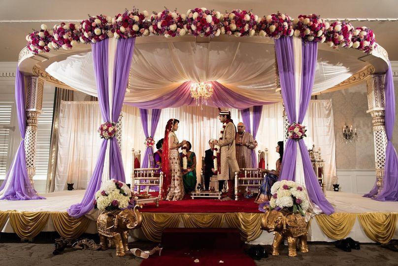 Indian Wedding in Ballroom