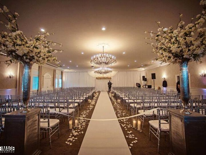 Tmx 1506607328690 Indoor Ceremony With Chiavari Chairs Blue Bell, PA wedding venue