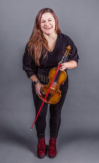 Hannah K Watson, violinist.