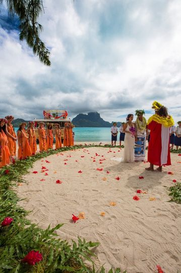 Bora Bora - Traditional Tahitian Wedding
