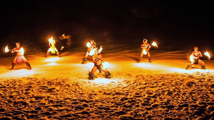 Bora Bora - Wedding Fire-Dance