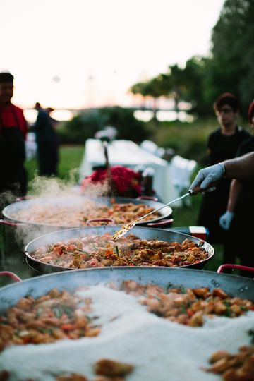 Mouth-watering catering