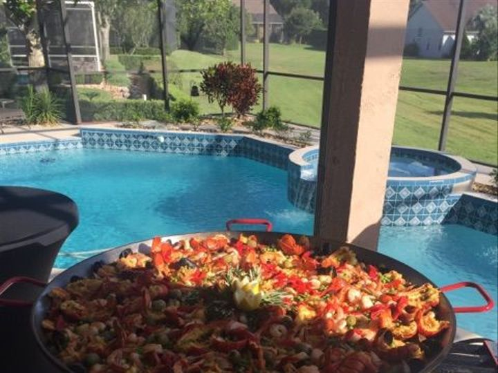 Tmx 1529092624 Bf01379a0d5191a8 1529092622 3becfedcd7231402 1529092606315 22 Paella Mixta Pool Fort Myers, FL wedding catering