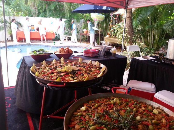Tmx 1529092631 155491e9ed3c3b17 1529092630 95b98cf043c7d7b7 1529092606318 24 Paella Party   Co Fort Myers, FL wedding catering