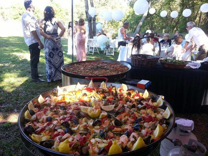 Tmx 1529092632 2d0d51a0268573bd 1529092630 Daa9fa3a198fae26 1529092606329 29 Paella Wedding    Fort Myers, FL wedding catering