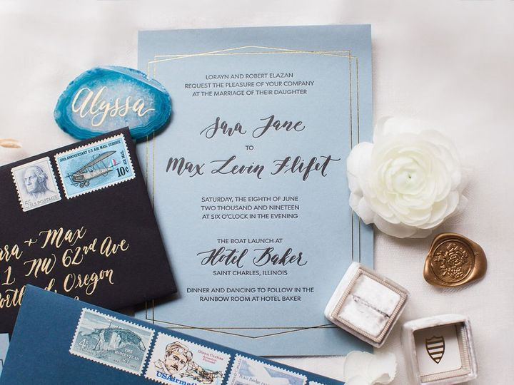 Tmx 44 51 947192 1569351901 Portland, OR wedding invitation