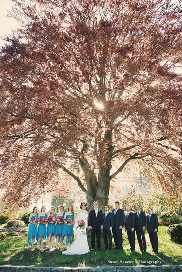 roger williams botantical gardens wedding