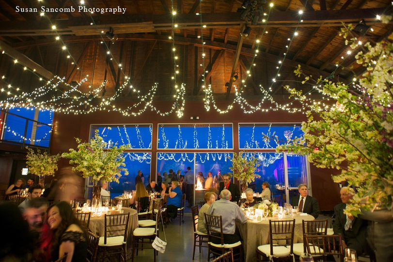 salt water farm vineyard wedding reception photogr