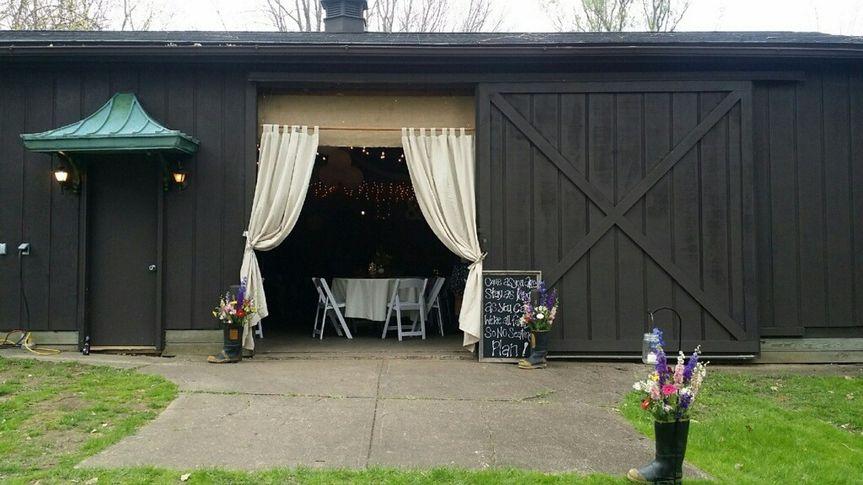 Hines Hill Barn - Entrance