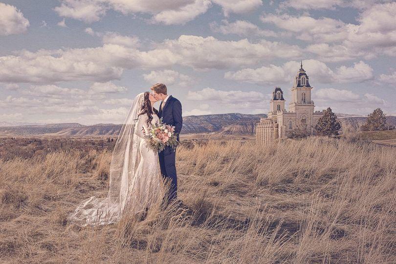 Manti, Utah Temple Wedding