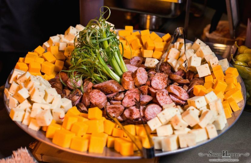 800x800 1404046249717 Sausage And Cheese Platter Trenor Wedding Simply D 1404045590413 Corkys Bbq
