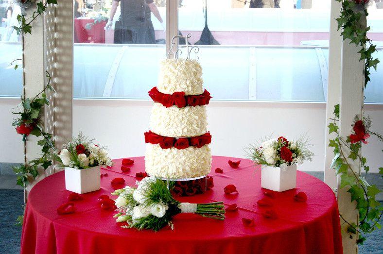 Beautiful iced cake