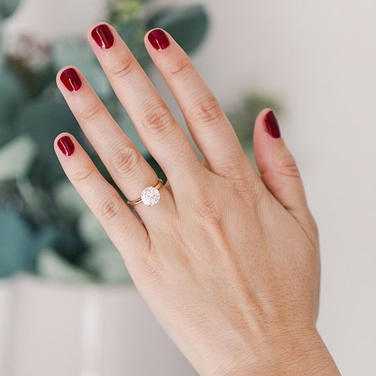 Comfort Solitaire Ring (17740)