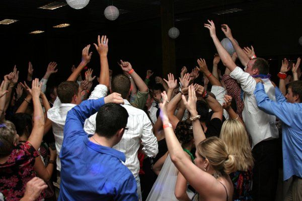 Party at the dance floor