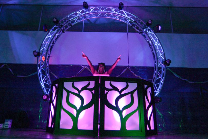 Now offer Trussing set ups for your next event for that live concert feel!