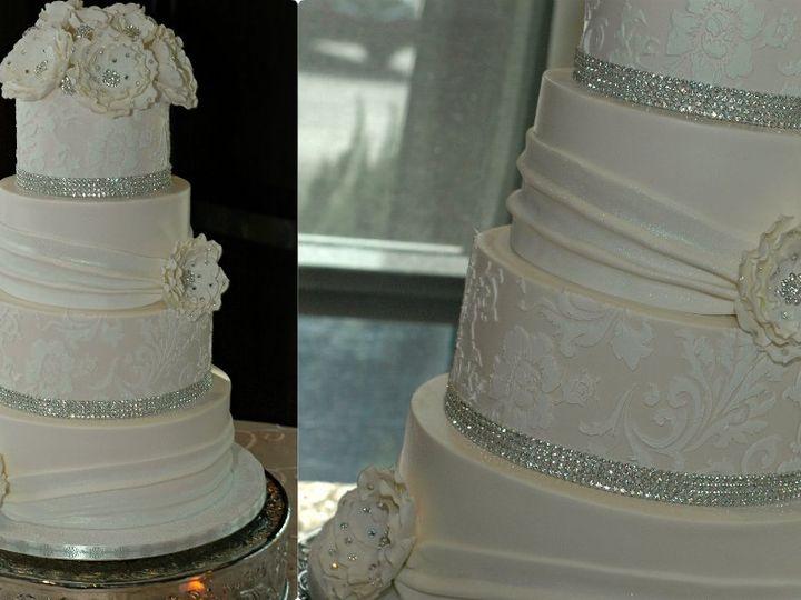 Tmx 1341190981347 2ndCollage Winston Salem wedding cake