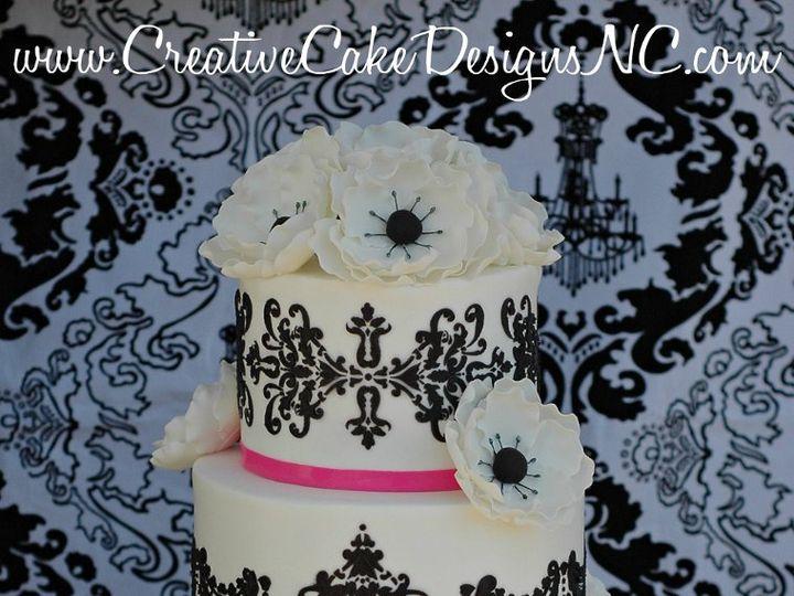 Tmx 1341191057152 CakeBoss Winston Salem wedding cake