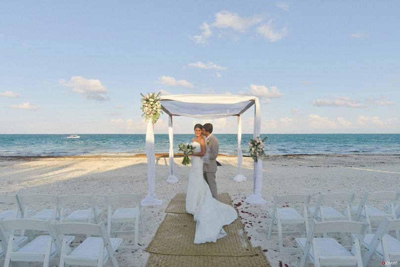 Wedding Ceremony at Acamaya Reef Riviera Maya
