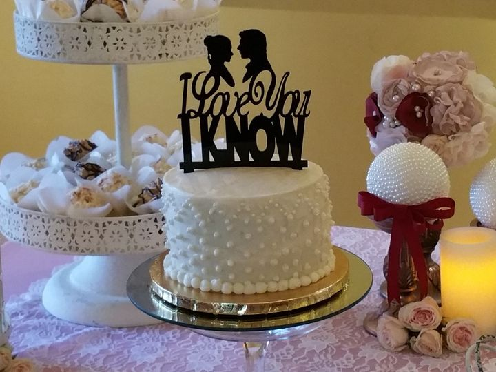 Tmx 1455476418975 8b New Smyrna Beach, FL wedding cake