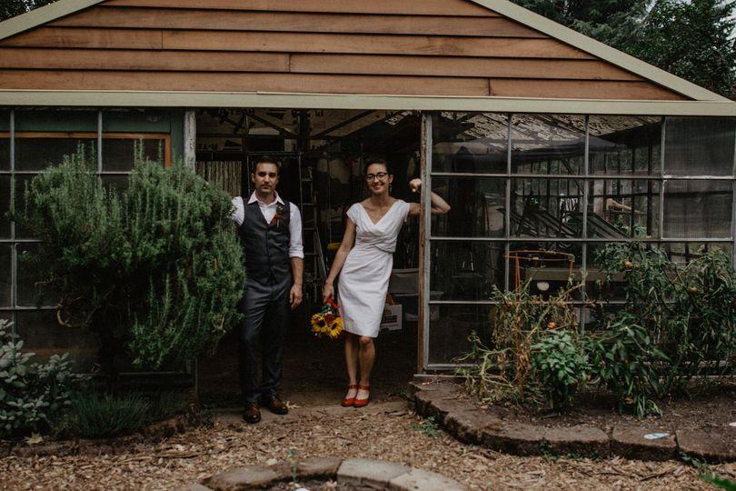 Backyard Portland Wedding