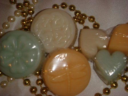 Individual guest soaps or wax tarts made from natural ingredients and essential oils.  Soaps or...