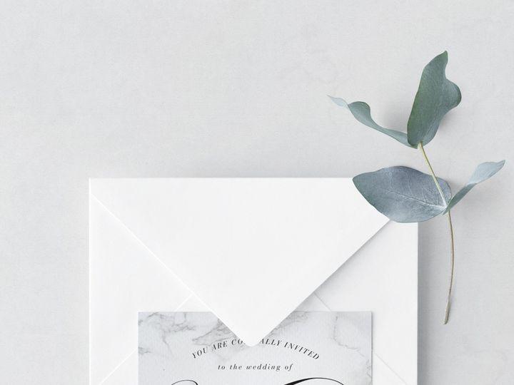 Tmx Invitation Card And Envelope 5 51 986292 159283665213724 Bay Shore, NY wedding invitation