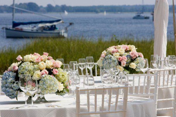 Destination wedding in St. Michaels, MD