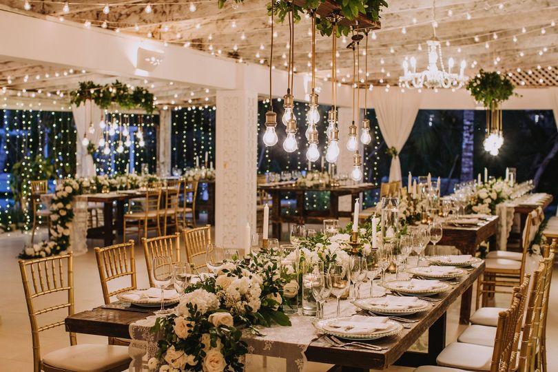 Main Salon Wedding Reception