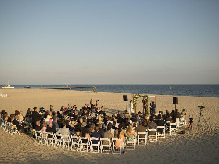 Tmx Wychmere Beach Club Beach Ceremony Overview Joshua Behan 51 49292 Harwich Port, MA wedding venue