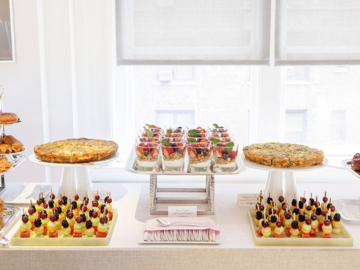 Tmx 1452539279695 Breakfast Station Close Up Carnegie Courtney Apple Philadelphia, PA wedding catering