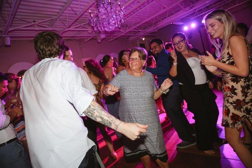 Dance floor | Photographed by Stephanie BoylesLili Lu by Cassie Peech