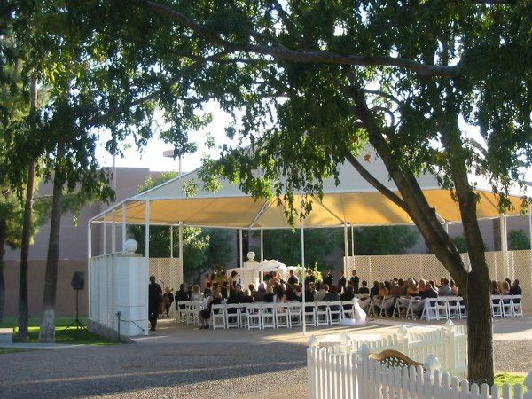 The Gazebo provides an elegant and romantic Outdoor Ceremony for your your special day