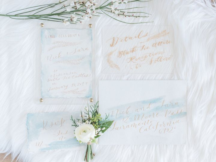 Tmx 1501545739487 Winter Styled Shoot At The Ice Castles Ice Castles Greensboro wedding invitation
