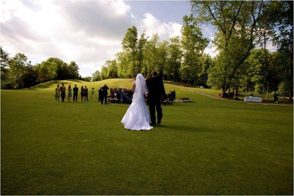 Hammond golf course wedding