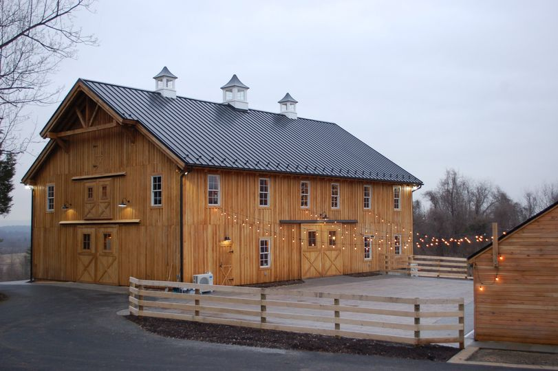 Barns with courtyard