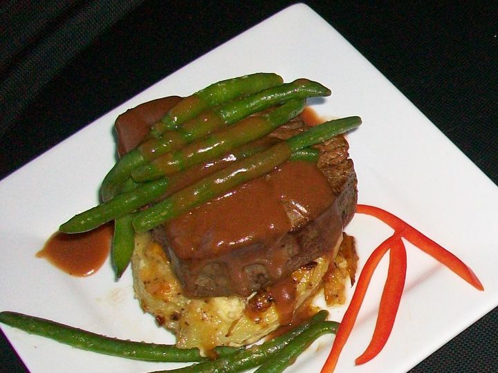 Tmx 1436470609886 Potato  Filet Stack Indianapolis, IN wedding catering