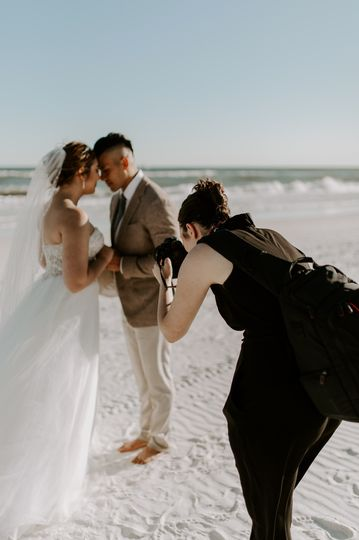 Beach wedding - P.S. Taylor Media