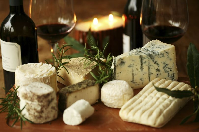 artisinal cheese platter