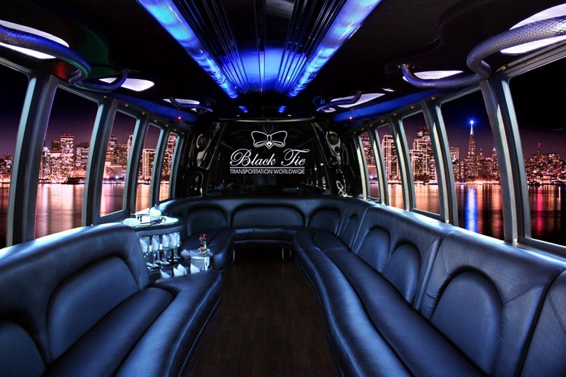 Limousine Bus is the ultimate vehicle for social events. Complete with fully stocked complimentary...