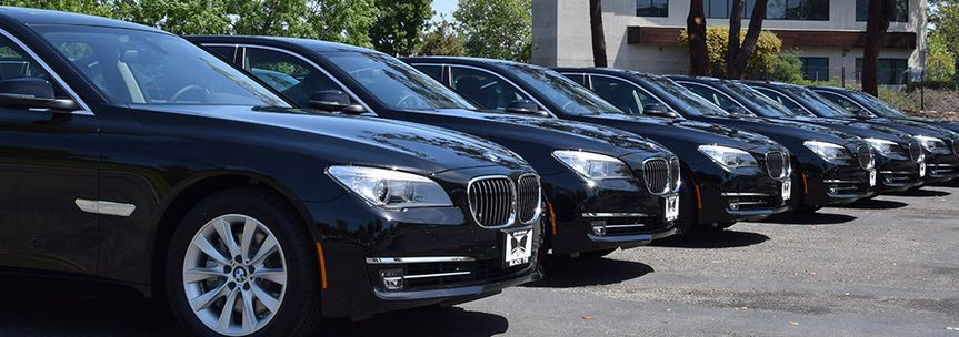 Our brand new BMW 740Li Sedans are perfect for post-wedding transfers or honeymoon transportation to...