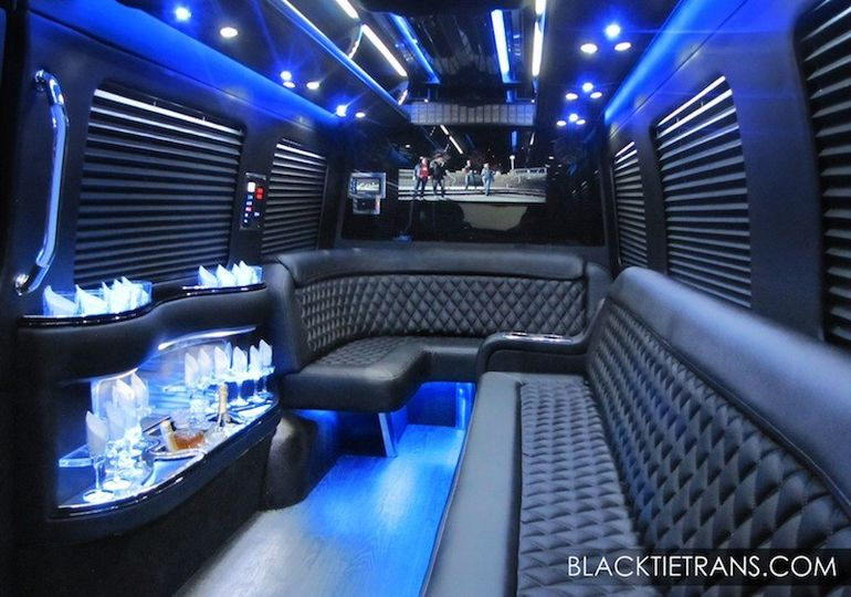 Black Tie offers brand new custom-built Mercedes Limousine Sprinters. Get the prestige of a...