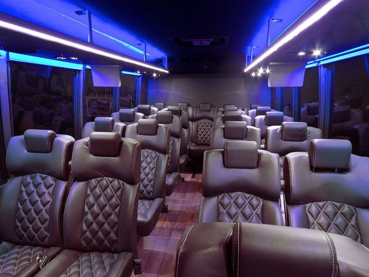 Tmx 1425323079753 22 Pass Interior Pleasanton wedding transportation