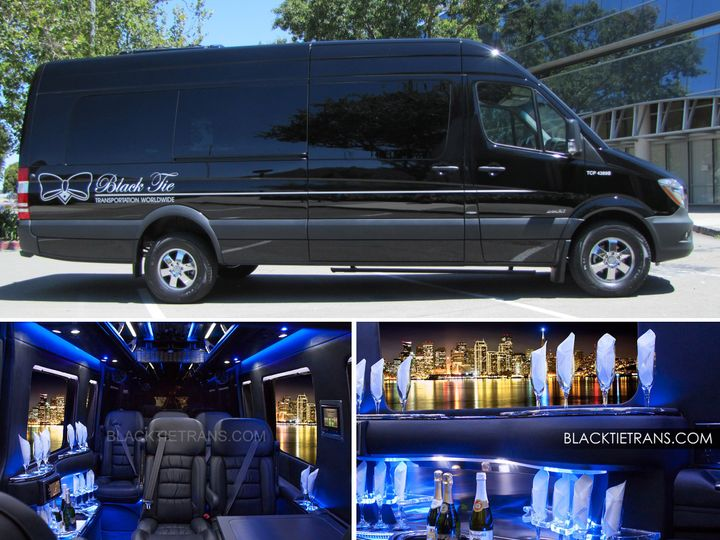 Tmx 1425323128448 Mercedes Sprinter Collage Pleasanton wedding transportation