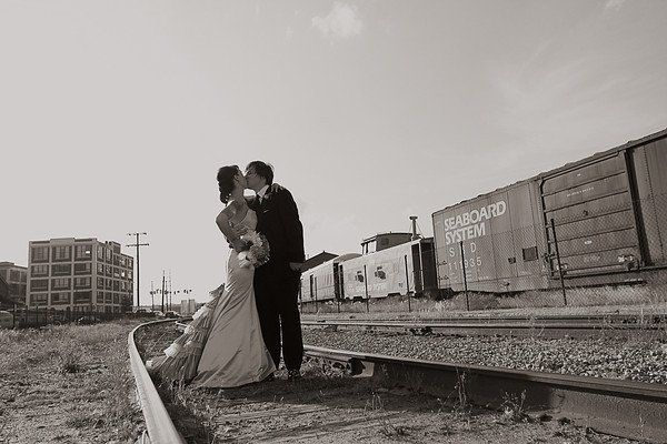 A quick stop for some awesome photos at the train yard