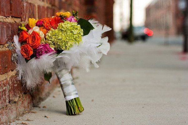 The bouquet on a photo safari