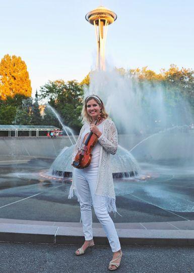 Violinist Rachel
